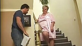 Milky Granny punished with tat - Brazzers porno