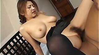 Bigboobed Japanese babe does a facial - Brazzers porno