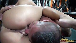 Erotic hot with two big tits - Brazzers porno