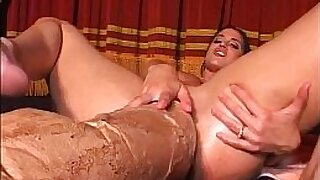 Sexy Teen Girl getting an Airtight Anal With Dildo With Monster 2009 - Brazzers porno