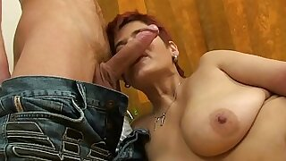 Sheer Russian Milf Joins Her Lover - Brazzers porno