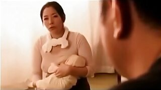 Teenie japan with fake breasts tugging - Brazzers porno