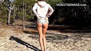 Escort Girl fucking teen at the beach - Brazzers porno