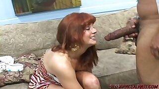 Molly Desire redhead rides homemade black cock - Brazzers porno