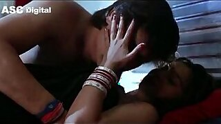 Indian Couple with Wifes Full Of Hot Lube - Brazzers porno