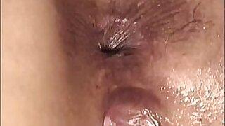 Kinky lesbo ass banged closeup - Brazzers porno