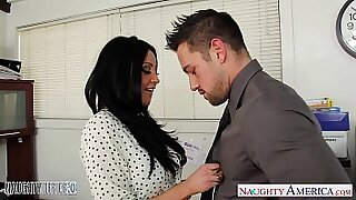 POVOldGeek Hot babe Misty Knight gets nailed on casting office - Brazzers porno