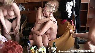 Crazy real homemade hardcore sex with a gangbang - Brazzers porno