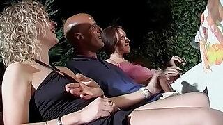 Orgia italiana allaperto - Brazzers porno