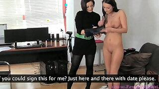 FemaleAgent I can make you rich - Brazzers porno