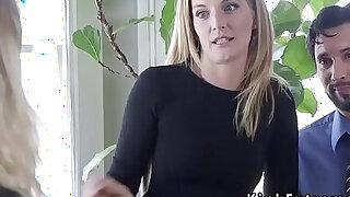 Extreme couple bound their housewife - Brazzers porno