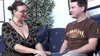 MMV FILMS Casting a chubby MILF - Brazzers porno