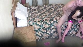 Petite babe pounded on spycam - Brazzers porno