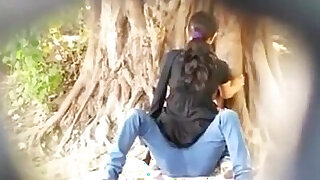 Spying on Indian Couple fucking in Park - Brazzers porno