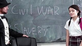 Gettysburg Undressing Adria Rae - Brazzers porno