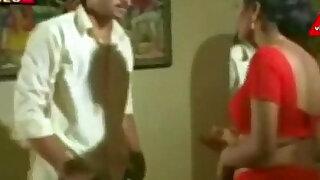 red saree aunty seducing hot - Brazzers porno