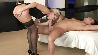 Hot Blonde Wife Samantha Seduced and Banged - Brazzers porno