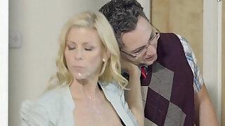 Lucky Son Fucks Step Mom Alexis Fawx Then Teen Lily Rader - Brazzers porno