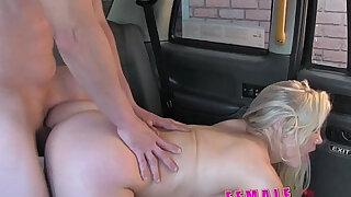 Female Fake Taxi Cocky fella shown whos the boss - Brazzers porno