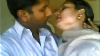 Total: 1503 -  Hot mouth kissing to his bhabhi
