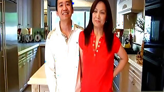 Youll love this happy Asian MILF as sh - Brazzers porno