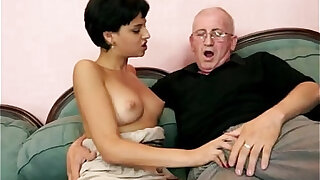 the old man can teach her - Brazzers porno