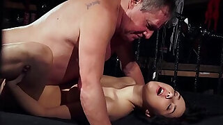 Old man is spoiling his dick with young wet puss - Brazzers porno