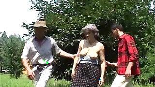Granny DP - Brazzers porno