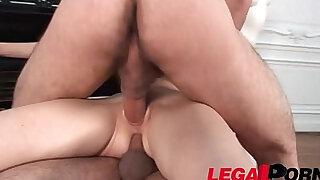 Karolina loves anal sex DP - Brazzers porno