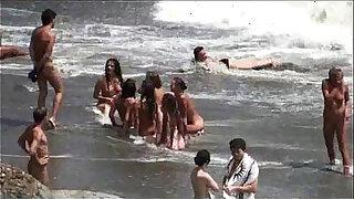 theSandfly Total Beach Exposure! - Brazzers porno