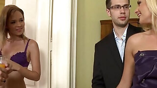 Swinging euro housewives double penetration - Brazzers porno