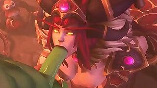 Fapzone Alexstrasza World of Warcraft - Brazzers porno
