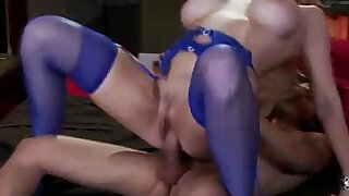 Busty amateur milf gets deep in her pussy fucking lucky guy - Brazzers porno