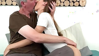 Last fuck with an old guy - Brazzers porno
