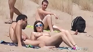 Real Sexy Guys Naked on the Beach - Brazzers porno
