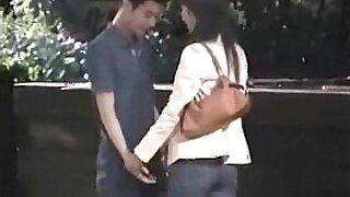 Fist couple fucking in public only? - Brazzers porno