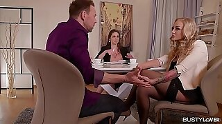 Cathy Heaven Busty For her first Date - Brazzers porno