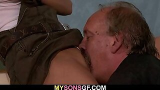 DAD Plays With My Big Pussy - Brazzers porno