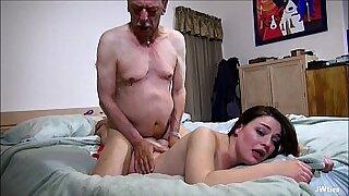 Grandpa Grrrl On Gamble - Brazzers porno