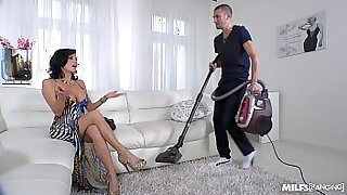 Squirting MILF movies and hot married guy sucking dick - Brazzers porno