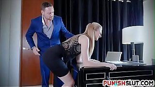 Finger Punished Boss Face Fucking - Brazzers porno