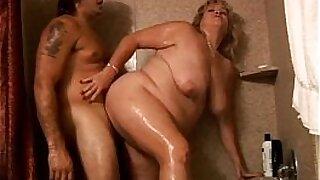 Blonde BBW hooker rides bbc that has a big boobs - Brazzers porno
