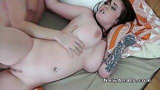 Wild homemade Asian anal - Brazzers porno